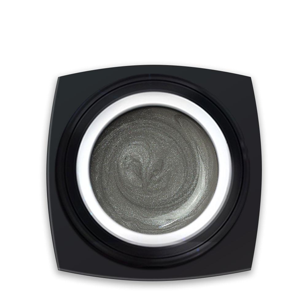 Gel Colorat Argintiu Metalizat