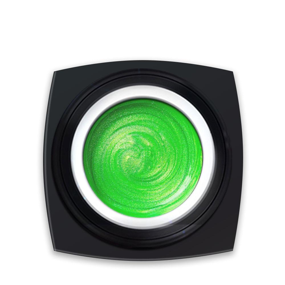 Gel Colorat Verde Deschis Metalizat